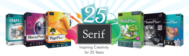 It's Serif's 25th birthday!